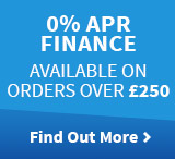 0% APR Finance available on orders over £250