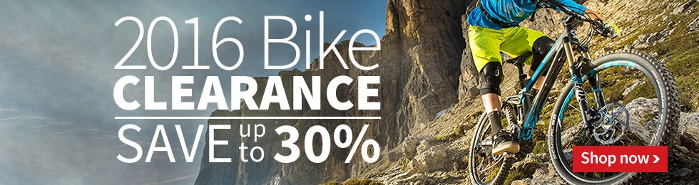 Save up to 30% OFF 2016 Bikes