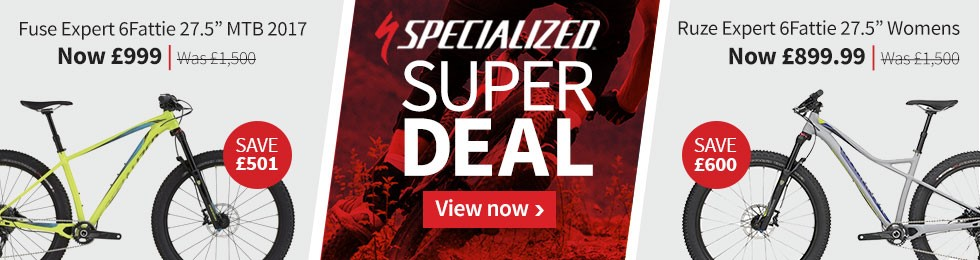Specialized Flash Sale