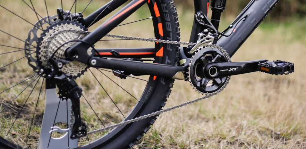 Cube Stereo 140 groupset