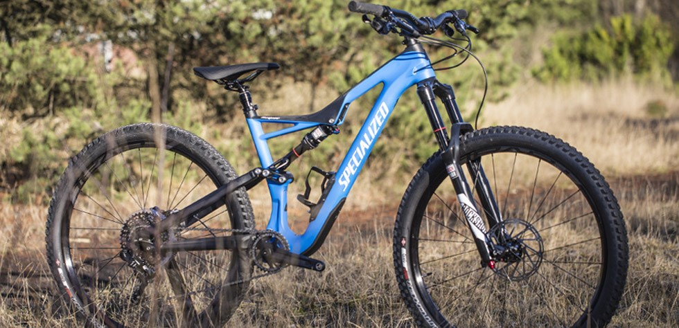 Specialized Stumpjumper FSR on the trails