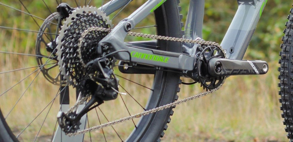 Cannondale Trigger groupset