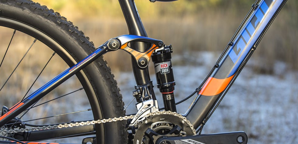 Giant Stance Rockshox shock and fork