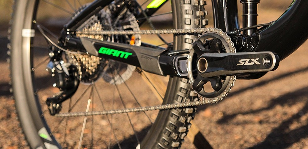 Giant Trance comes with secure shifting and a wide gear range