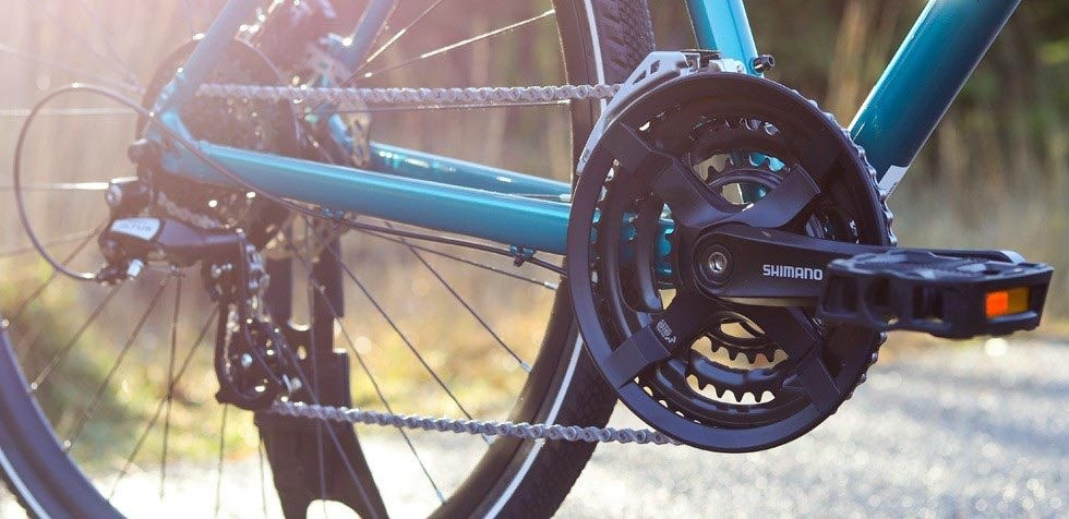 Specialized Crosstrail groupset