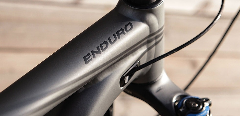 Specialized Enduro frame available in carbon and aluminium