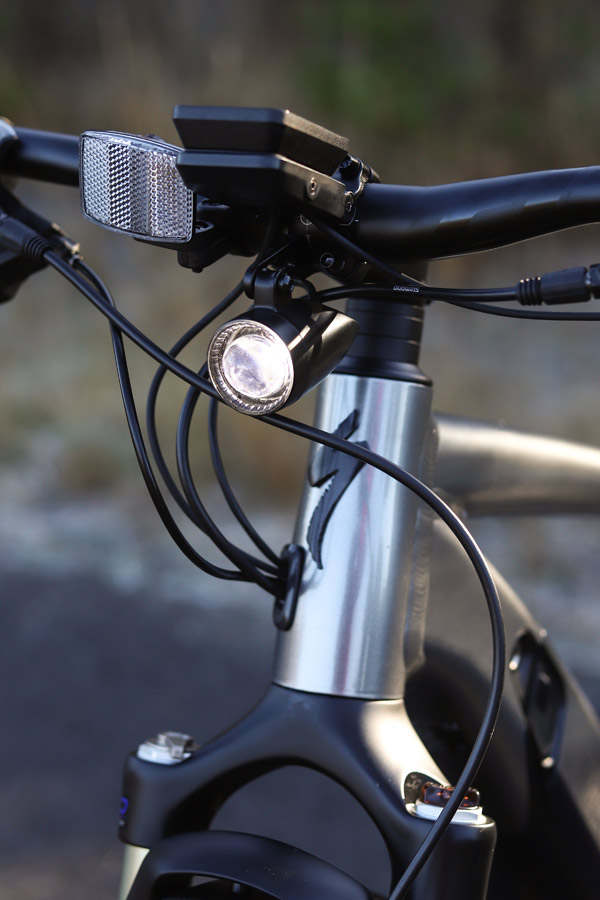 Specialized Turbo Vado front light