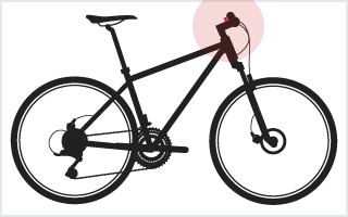 location of Shifters on a bike