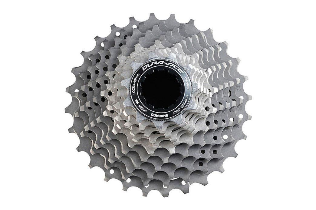 Picture of a cassette from a groupset