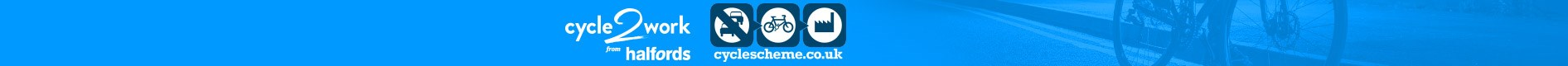 We accept Cycle to Work vouchers