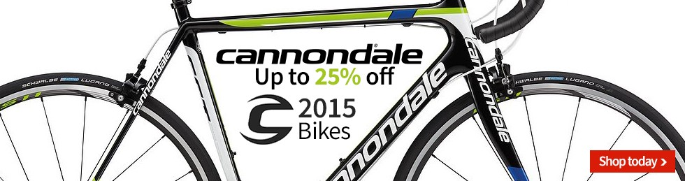 Cannondale Sale, save up to 25%