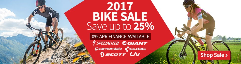2017 Bike Sale - Save up to 25%