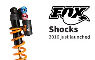 2016 Fox Racing suspension just in