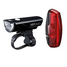 Bike lights help you see and be seen by other users