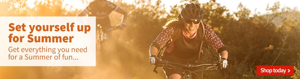 Set yourself up for a Summer of mountain biking