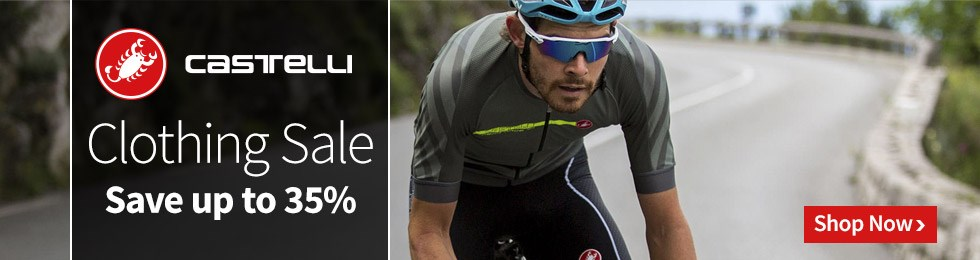 Castelli Clothing Sale - Save up to 35%