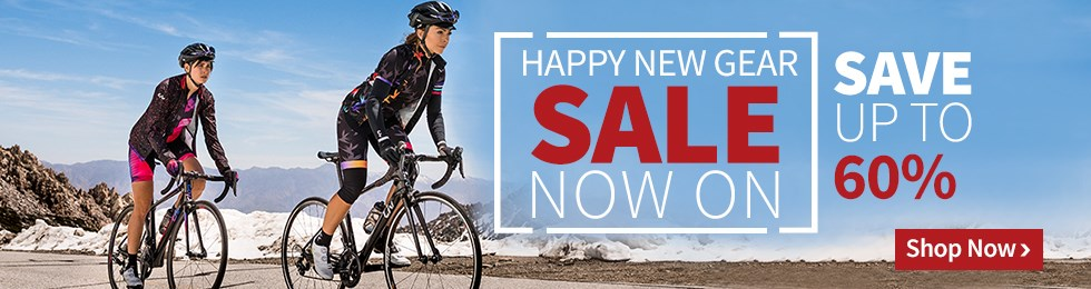 Happy New Gear - Save up to 60%