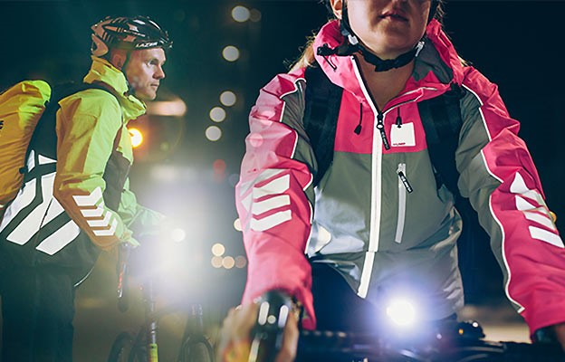 See & Be Seen with Hi Vis Cycling Jackets