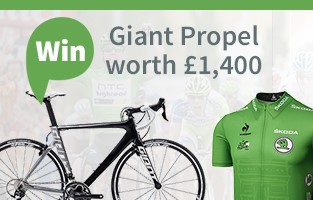 Win a TDF Green Jersey & Giant Propel worth £1400