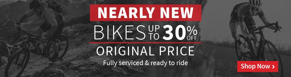 Nearly New Bikes - Up to 30% off