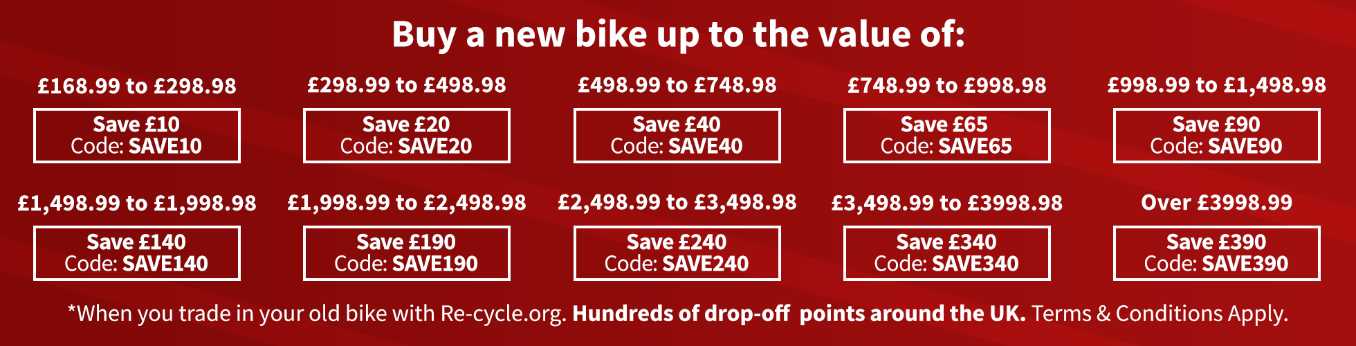 Trade In Now Available - Get Up to £400 Off