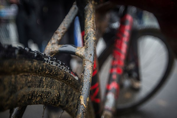 Dirty bike frame
