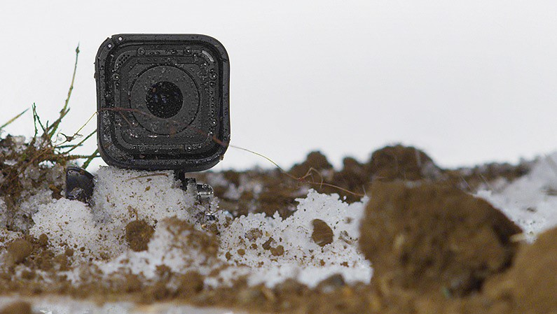 GoPro session is super compact