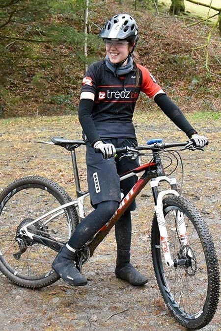 Team Tredz rider Alex up in Afan Argoed