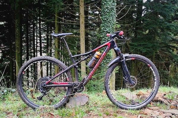 Dave test rides the new Epic by Specialized up in Afan Argoed