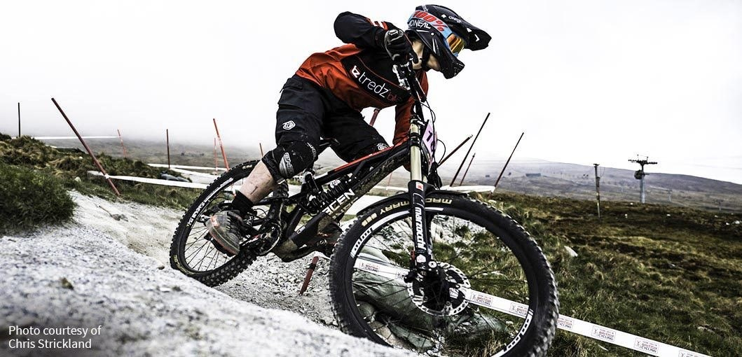 Team Tredz Rider Lindsay Hanley in action