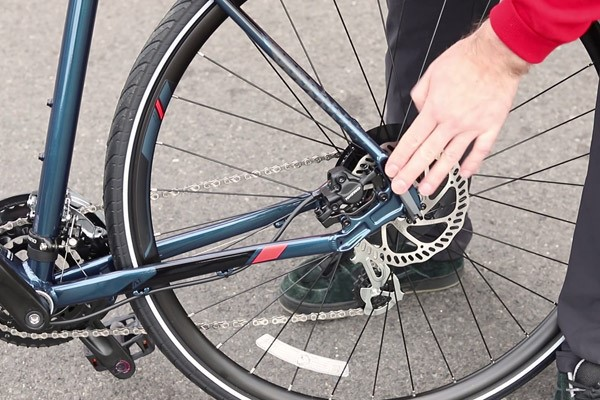 Check teh quick release on your bike