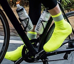Windproof Giro overshoes for cycling