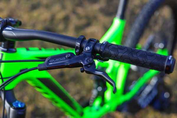 Giant Reign brake and frame