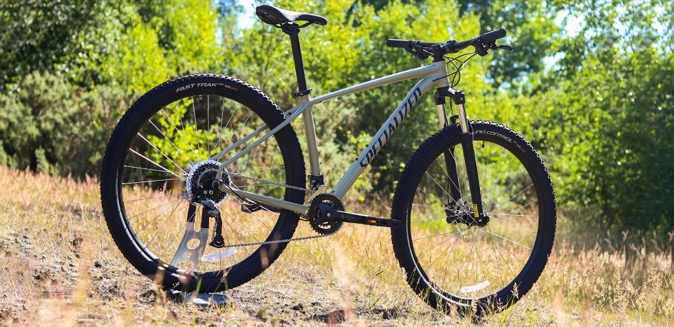 Specialized Rockhopper with capable geometry