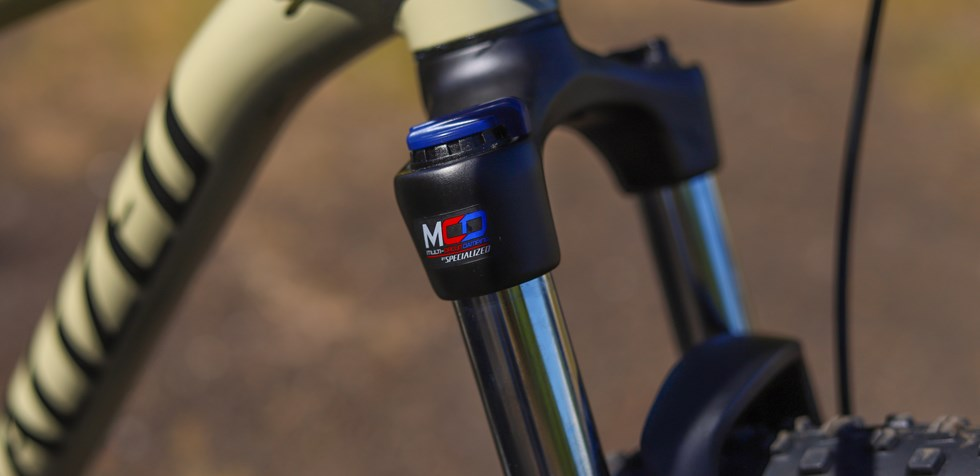 Size specific Specialized Rockhopper suspension