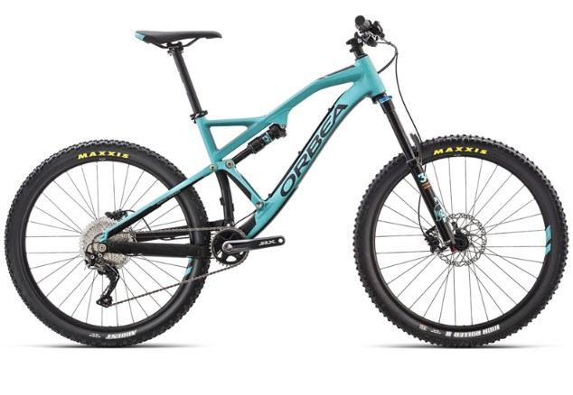 Orbea Rallon X30 27.5in mountain bike 2017 enduro full suspension mtb