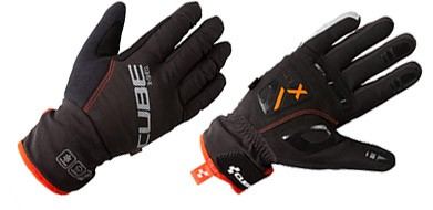 Cube Long Finger Gloves