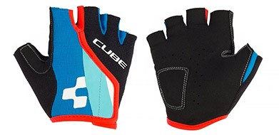 Cube Short Finger Gloves