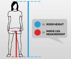 Bike Size Chart For Women COMPARED TO MENS BIKES