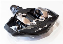 Shimano M530 MTB SPD Trail Pedals Side