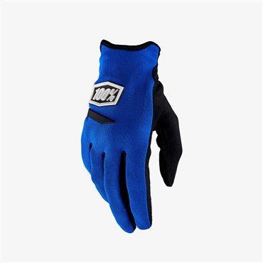 100% Ridecamp Womens Long Finger Cycling Gloves SS18