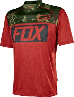 Fox Clothing Indicator Print Short Sleeve Cycling Jersey AW16