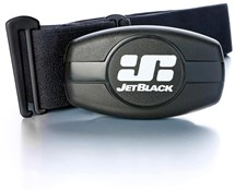 JetBlack Heart Rate Monitor - Dual Band Technology (Bluetooth / ANT +) - Soft Strap