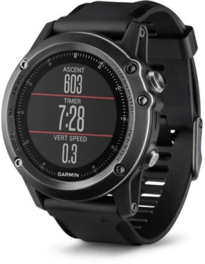 Image of Garmin Fenix 3 Sapphire Wrist Heart Rate Fitness Watch Performer Bundle