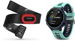 Product image for Garmin Forerunner 735XT Run Bundle Fitness Watch