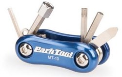 Product image for Park Tool MT10 - Mini Fold Up Multi-Tool