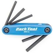 Product image for Park Tool AWS92C Fold-up Hex Wrench and Screwdriver Set