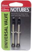 Stans No Tubes Universal 55mm Valve Stem Pair