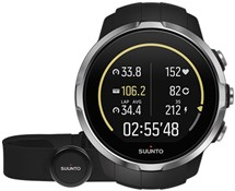 Product image for Suunto Spartan Sport Black (HR) Heart Rate and GPS Touch Screen Multi Sport Watch