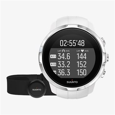 Suunto Spartan Sport White (HR) Heart Rate and GPS Touch Screen Multi Sport Watch